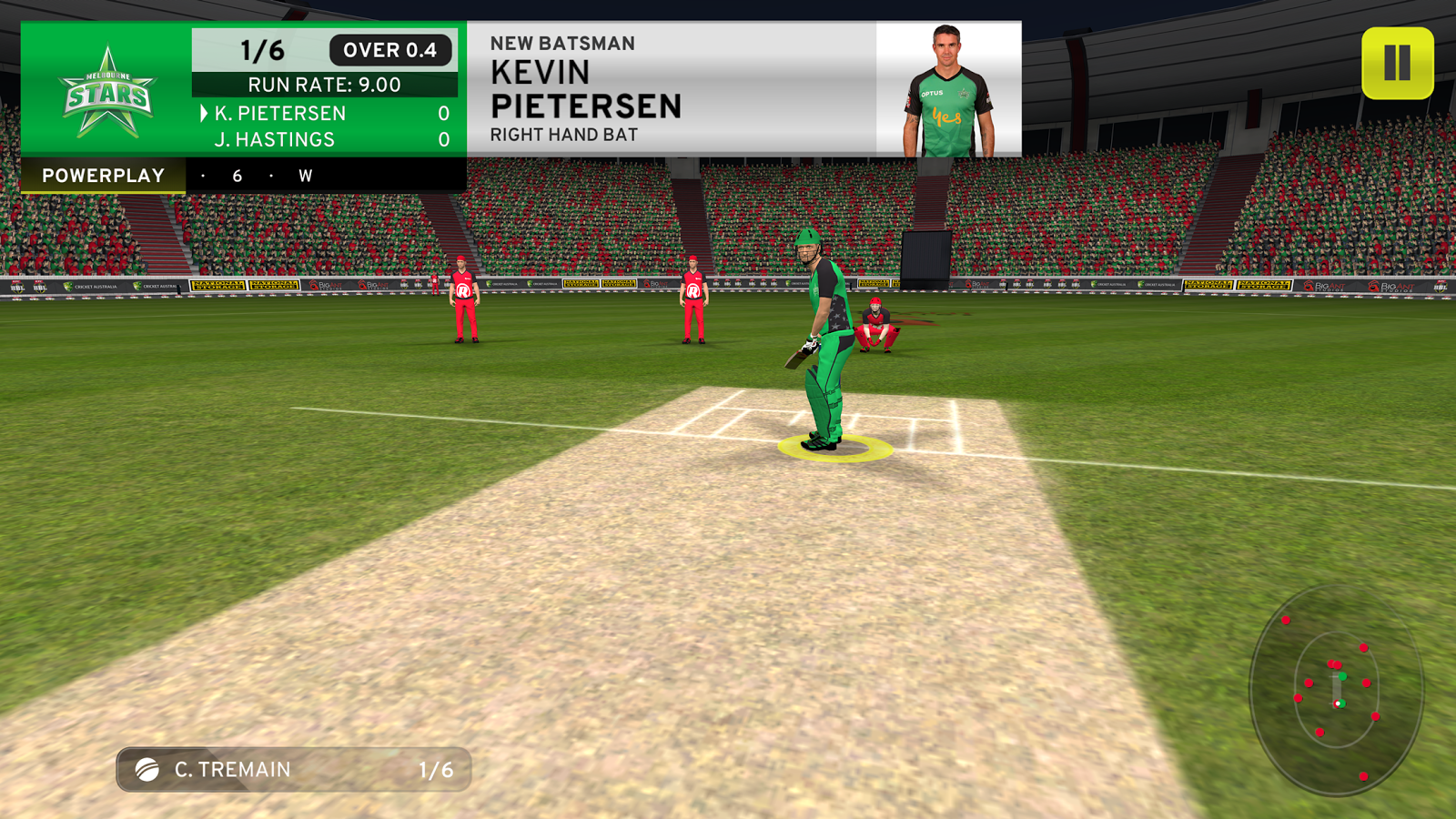 Screenshots of Big Bash 2016 for iPhone