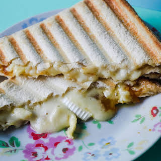 Marmalade and Brie Toasties.