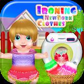 Ironing Newborn Clothes
