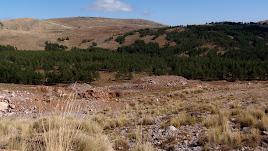 Imagen  de la Sierra de Gádor tomada muy cerca al Pozo Lupión. Foto: Jose Miguel Sola