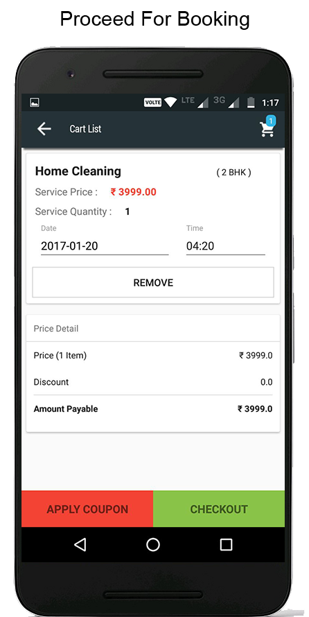 Raghukaka- Home Services Store- screenshot