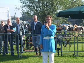 Photo: Openingswoord door burgemeester mevr.  Boot.