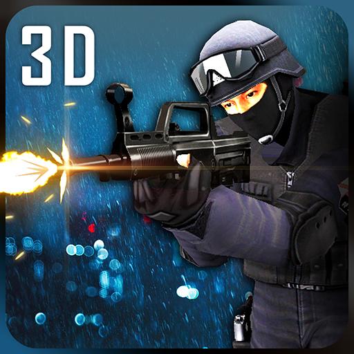 动作のサンアンドレアス犯罪対SWATチーム LOGO-記事Game