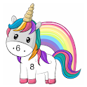 Unicorn & Little Pony - Color by Number icon