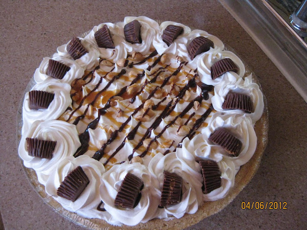 Peanut Butter Fudge Ice Cream Pie Recipe