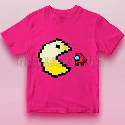 Pac-Man Game Among Us Impostor 9