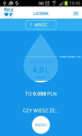 android Lubię Wodę - Roca Screenshot 3