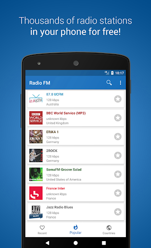 Radio FM Player - TuneFm screenshot for Android