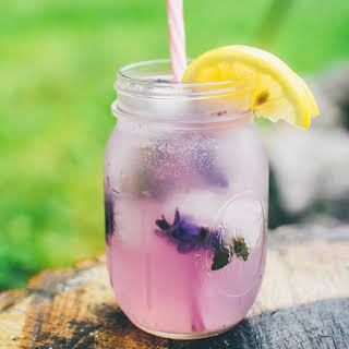 Sparkling Violet Lemonade.