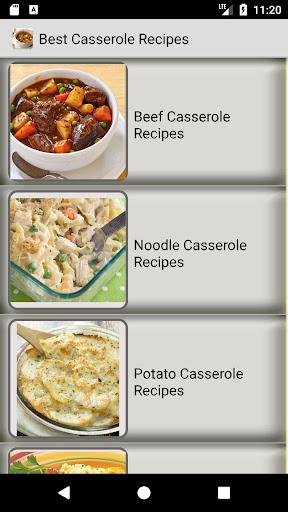 Easy Casserole Recipes : simple, quick recipes 1.3 screenshots 1
