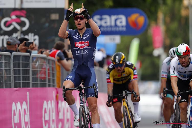 Tim Merlier winst in Giro