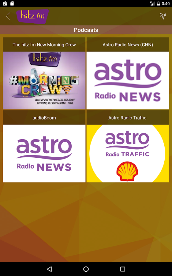hitz fm- screenshot