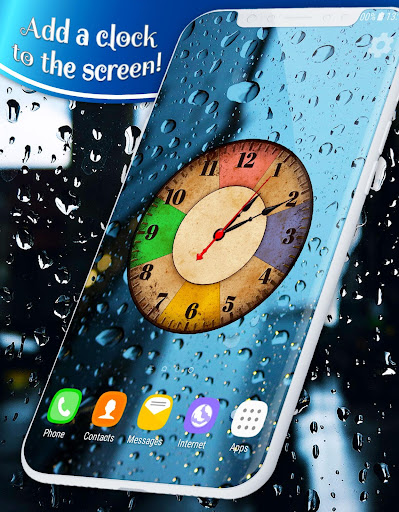 About Rain Drops Live Wallpaper