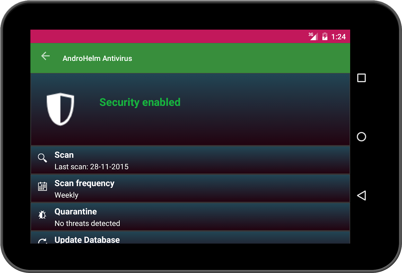 Antivirus android 2017 android apps on google play for App tablet android gratis