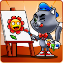 Paint the cat icon