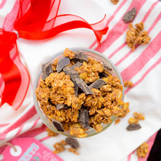 Crunchy Chai Spiced Granola Cookie Clusters