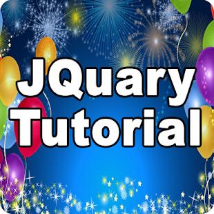 JQuery Tutorials - náhled
