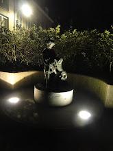Photo: Het standbeeld van Martine.