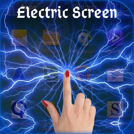 Electric Thunder Screen Prank (game)