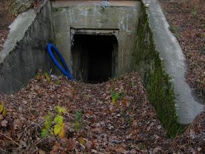 Photo: Niemiecki bunkier bierny w Skorogoszczy.