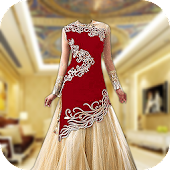 Royal Bridal Dress Photo Maker