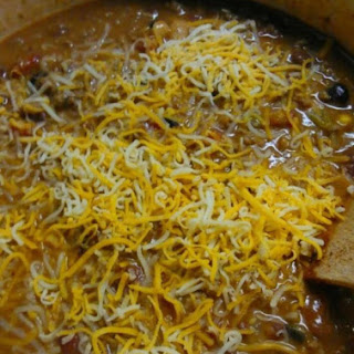 Cheese Enchilada Chili