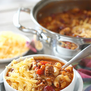 Macaroni Soup Ground Beef Recipes