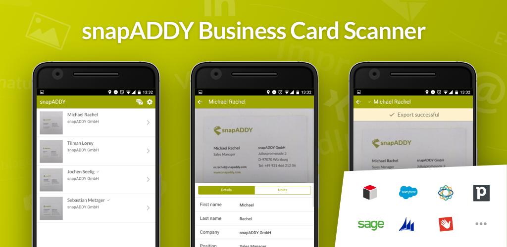 Herunterladen Visitenkartenscanner Für Crm 3 5 0 Android Apk