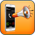 Caller Name Ringtone Speaker icon