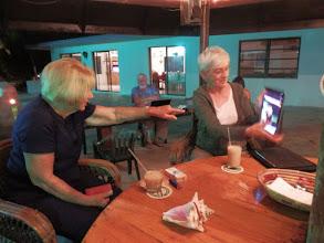 Photo: AIBC legend Barbara Liebroder and Sandy Heinz- Fall 2011