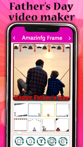 Father's day Video Maker with Song 2020 screenshot 2