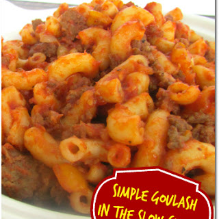 Crock Pot Ground Beef Goulash Recipes