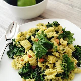 Vegetarian One-Day-A-Week Avocado Pasta