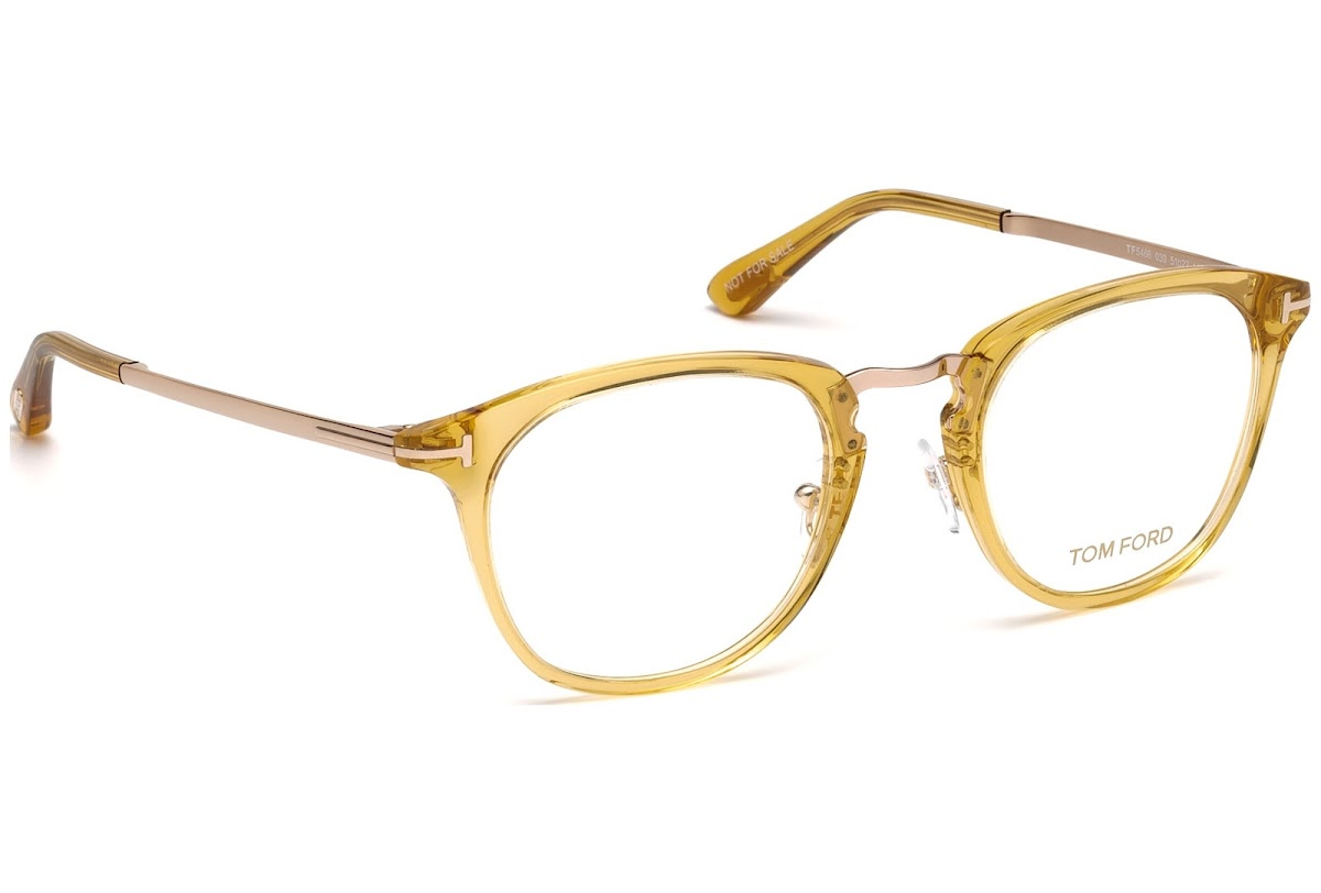 ef7705d705a Buy Tom Ford FT5466 C49 039 (shiny yellow   ) Frames