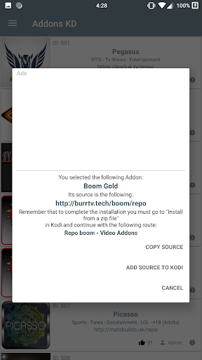 Addons KD 22.7 screenshots 2