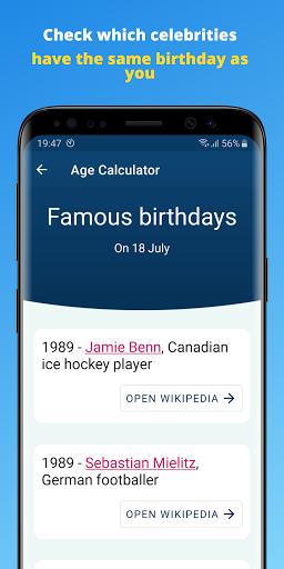 Age Calculator by Date of Birth screenshots 6