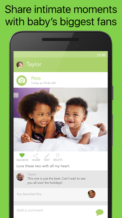 Ovia Baby Development Tracker- screenshot