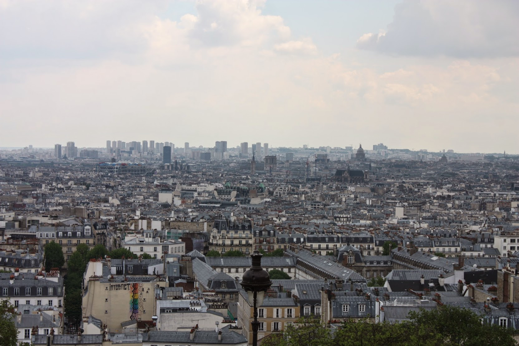 Great views from Montmartre