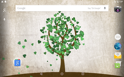 Tree of Love - Valentine's Day Live wallpaper Screenshot