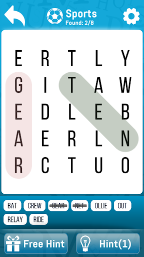 Word Search - Strain your brain 1.2 screenshots 10