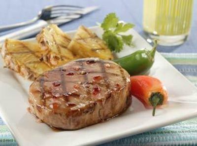Grilled Pineapple Pork Chops Recipe