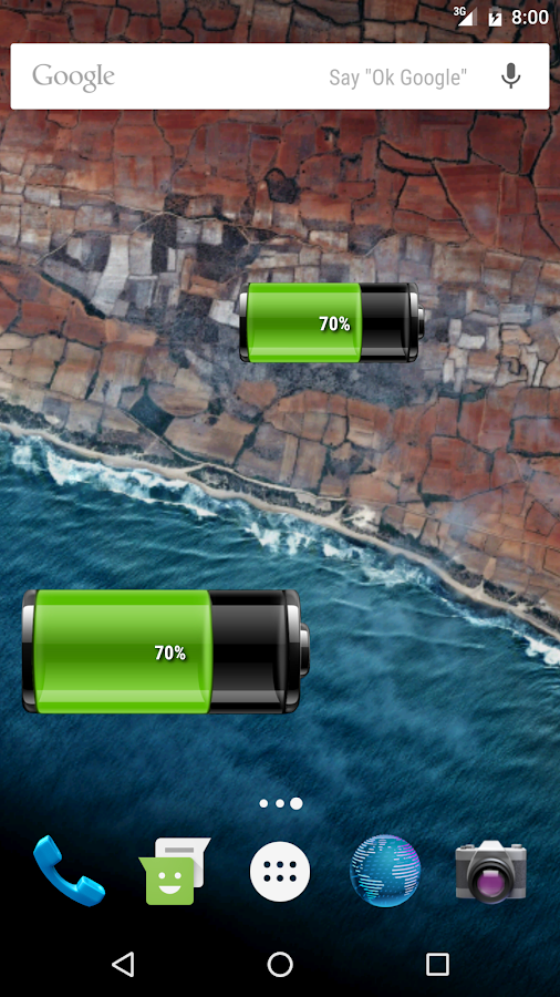 Battery Widget Pro- screenshot