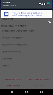 Fit Notifications (for Fitbit)- screenshot thumbnail