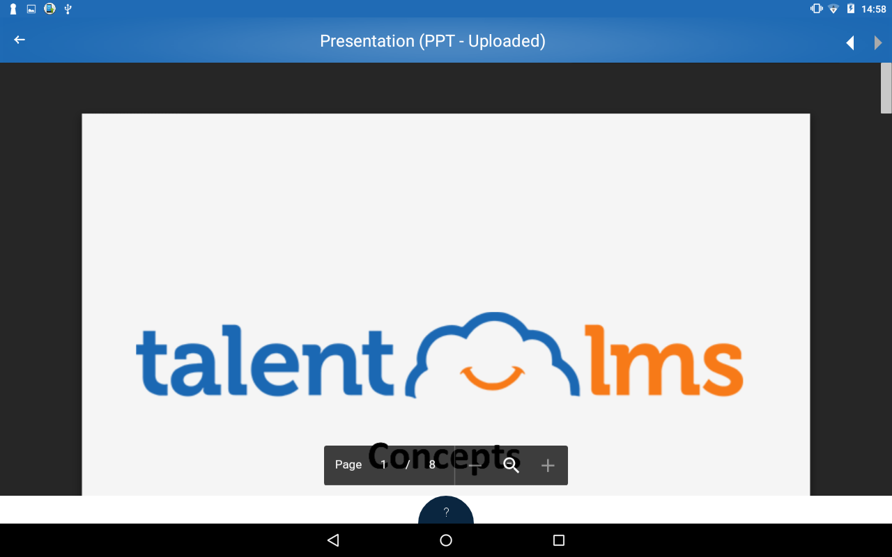TalentLMS- screenshot