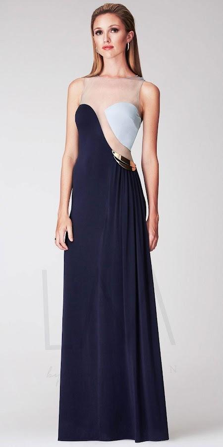 An evening dress design