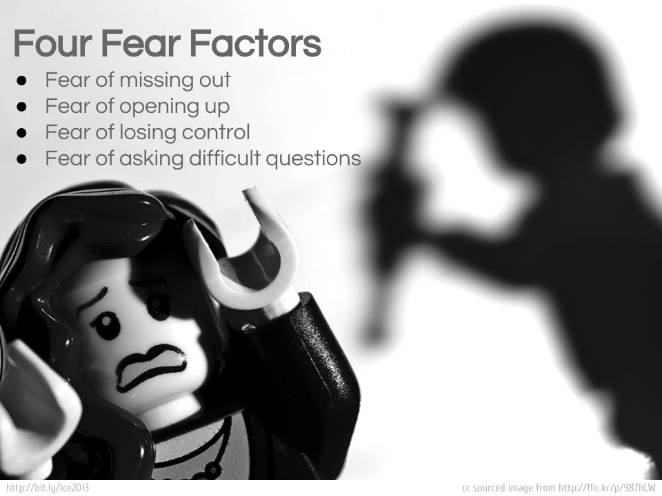 Fear Factor: e-Learning Edition