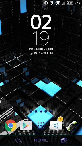 Theme - Blue Black