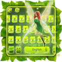 Leafy Flying Fairy Keyboard icon