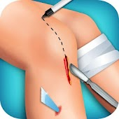 Knee Surgery Doctor Operation
