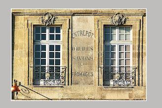 Photo: Détail de façade